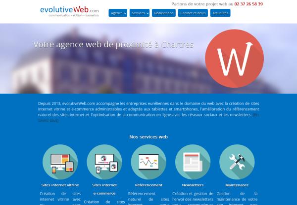 Création de site internet à Chartres en Eure-et-Loir