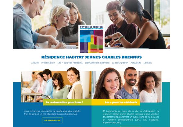 Résidence Habitat Jeunes Charles Brennus à Châteaudun