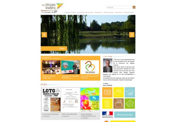 Ville Les Villages Vovéens en Eure-et-Loir